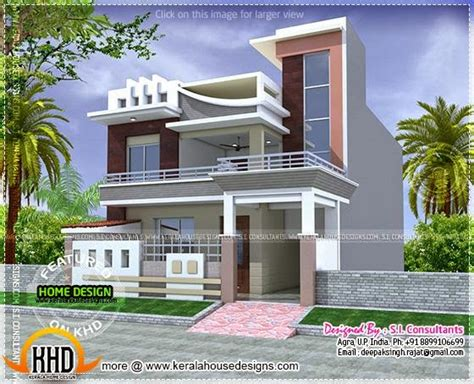 home design in 100 gaj plan available modern house kerala home design and