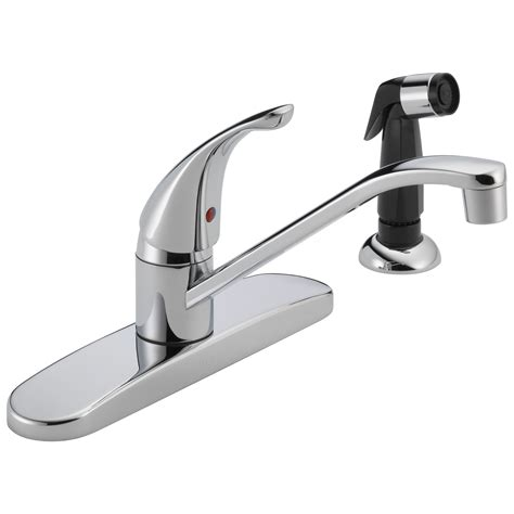 peerless p115lf classic single handle kitchen faucet