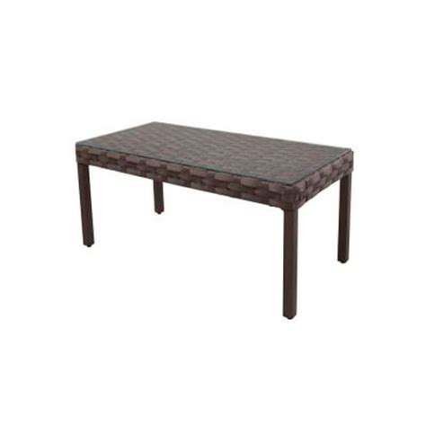 home depot outdoor coffee table hton bay raynham patio coffee table dy12091 tc the