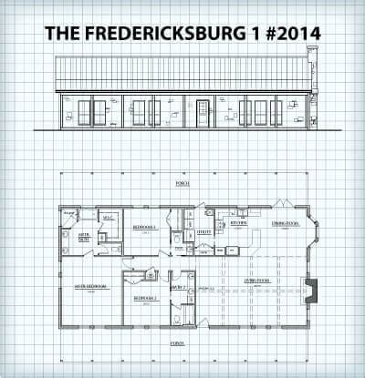 hill country floor plans the fredericksburg i plans