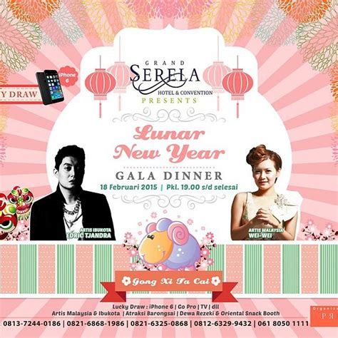 new year dinner 2015 jakarta grand serela hotel lunar new year gala dinner 2015 promo