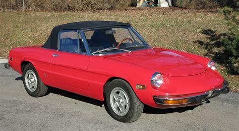 1974 Alfa Romeo Spider by 1974 Alfa Romeo Spider Connors Motorcar Company