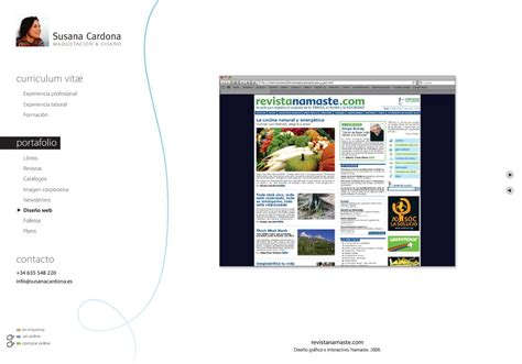 Modelo Curriculum Web Portfolio Dise 241 Ador Web Modelo Curriculum