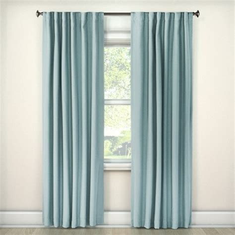 linen look curtains linen look lightblocking curtain panel threshold target