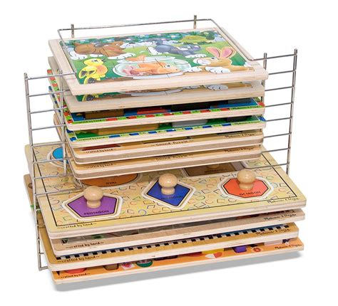 And Doug Wire Puzzle Rack by Doug Deluxe Wire Puzzle Rack