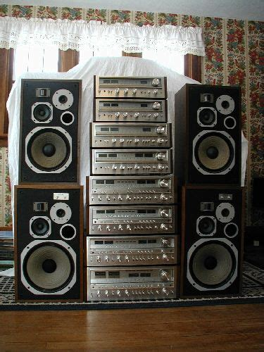 pioneer stack sx   sx  vintage stereo systems