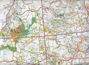 arizona and utah map road map of arizona images