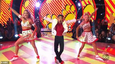 miles brown who let the dogs out dwts juniors sky brown produces faultless finale and