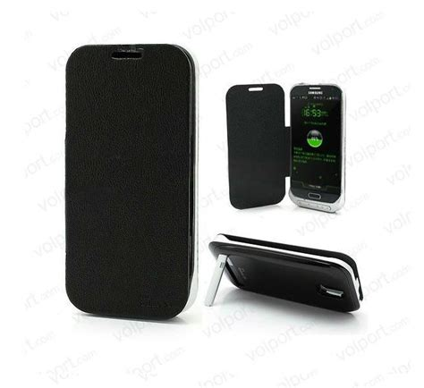 Power Bank Samsung Galaxy S 3300mah power bank leather flip backup battery for samsung galaxy s iv s4 for samsung