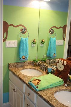 monkey bathroom ideas kids monkey bathroom on pinterest monkey bathroom