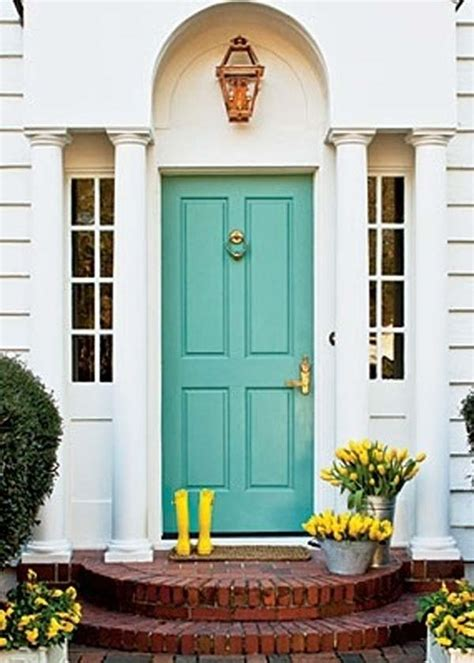 Beautiful Front Door Colors 32 Bold And Beautiful Colored Front Doors Amazing Diy Interior Home Design