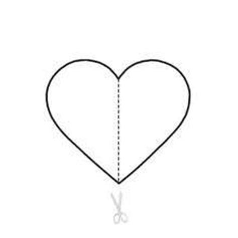 Imagenes De Corazones Medianos | actividades manuales de plantilla corazon de papel es