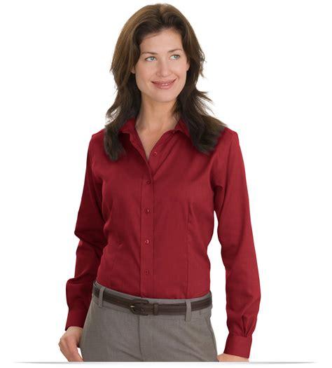 nailhead pattern shirt design custom red house ladies nailhead non iron shirt online