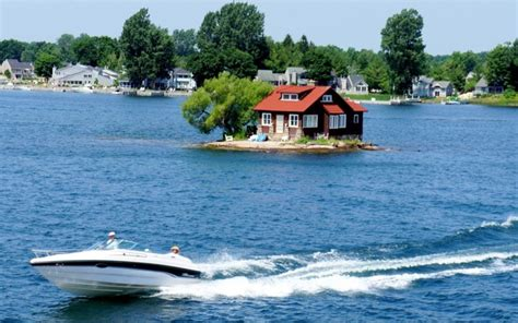 just room enough island thousand islands alexandria bay new york the aptly