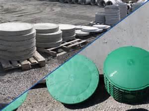 fabrication de couvercles de fosse septique en b 233 ton et
