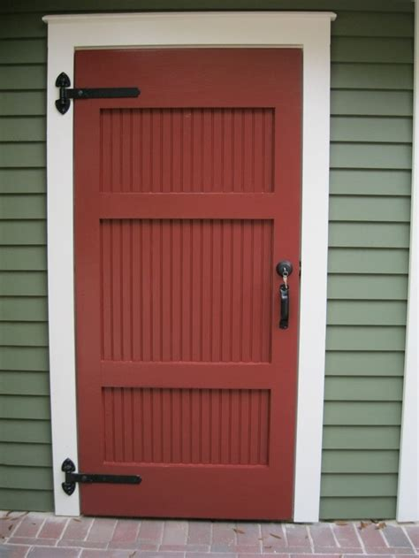 Batten Door by Board And Batten Beadboard Door Crafty Diy