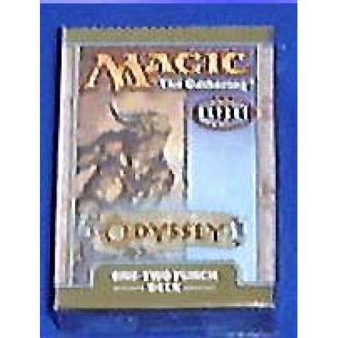 themes book 13 odyssey magic the gathering odyssey one two punch theme deck