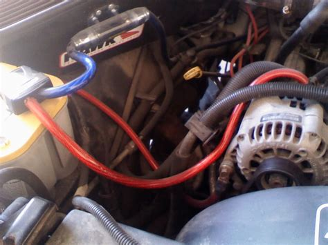 big 3 upgrade directions w pictures chevy tahoe forum
