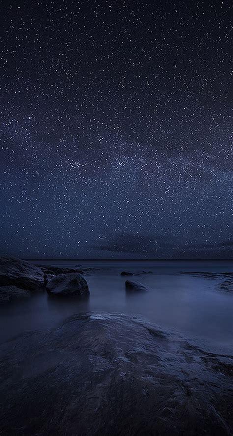 starry night iphone wallpaper wallpapersafari