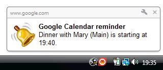 Calendar Desktop Notifications Calendar Sound Notifications