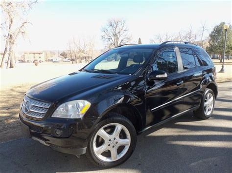 how make cars 2006 mercedes benz m class electronic valve timing sell used 2006 mercedes benz ml350 awd with airmatic suspension in aurora colorado united states
