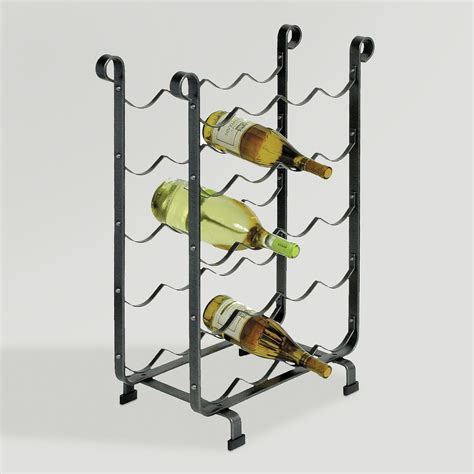 world market wine cabinet cost plus world market enclume 20 bottle wine storage rack