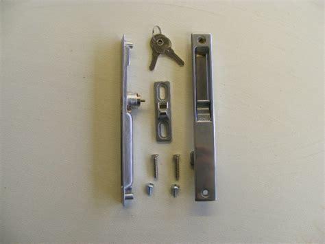 patio door lock repair replacement slimline inline sliding patio door lock for