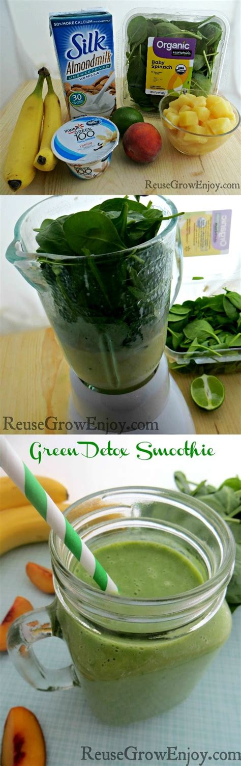 Green Detox Smoothie Ingredients by Green Detox Smoothie Recipe