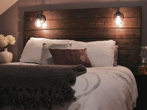 how to make wooden headboard build a rustic wooden headboard diy headboards