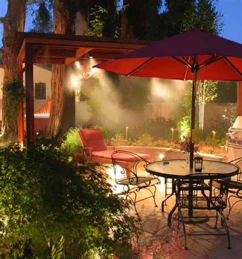 Landscape Lighting Systems Cool Misting System Dallas Landscape Lighting Installation