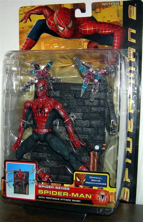 spider 2 figure spider sense spider figure with attack