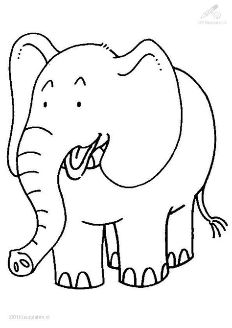 Free Coloring Pages Of Jungle Book Elephant Elephant Colouring Page