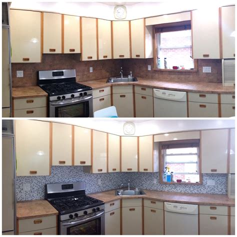 Kitchen Facelift Before And After House Helen Hou Sand 237