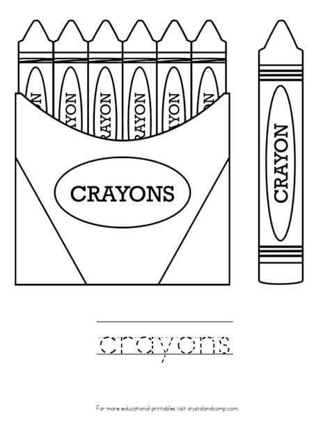 coloring crayons free coloring pages crayola 16 pack crayons coloring page