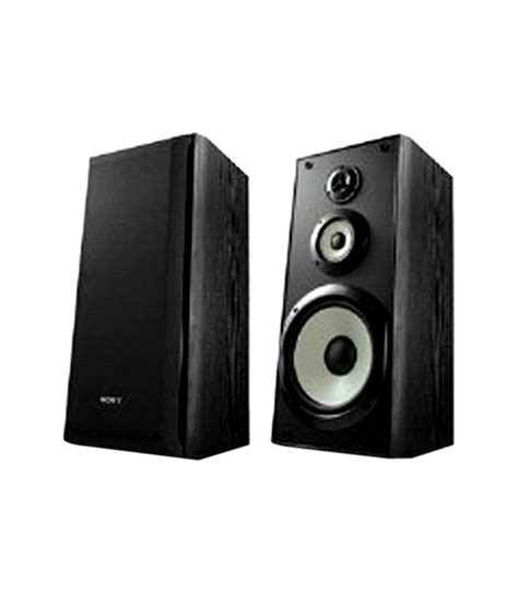 buy sony ss b3000 bookshelf speaker pair black at