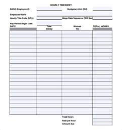 wages timesheet template 11 hourly timesheet templates free sle exle