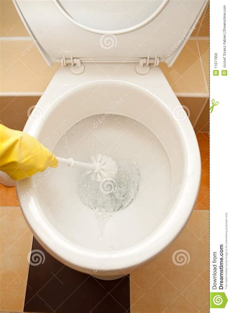 Toilets That Wash And You Washing The Toilet Stock Photo Image 11077950