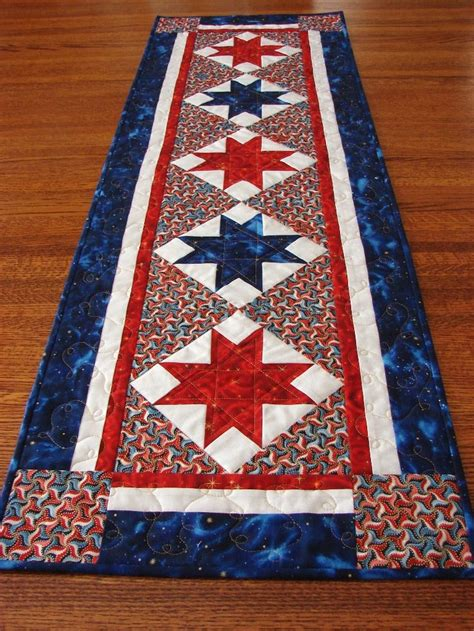 Easy Table Runner Neneng Quilt Projects - 17 best images about fourth july quilts on