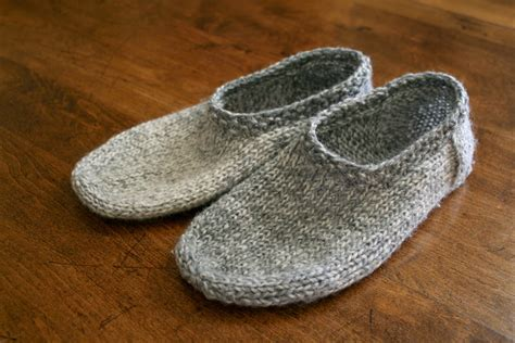 knitted slipper pattern sam south marysburgh slippers