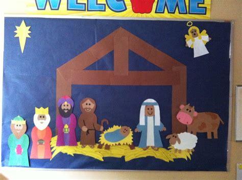 printable nativity scene for bulletin board nativity board sonshine pinterest busy bags and