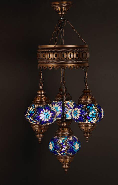 Turkish Mosaic Chandelier Mosaic L Turkish L Pendant L Hanging L Chandelier