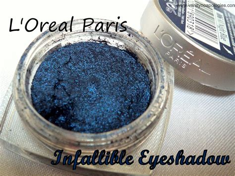 L Oreal Infallible Eyeshadow l oreal infallible all blue eyeshadow review