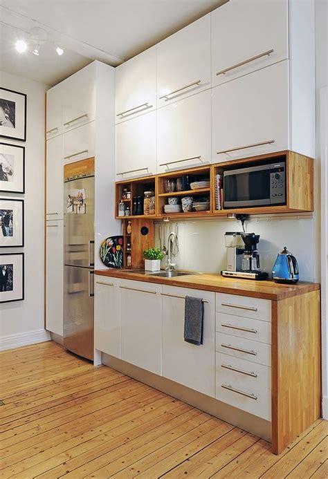 mira estos  muebles de cocina  colocar tu microondas