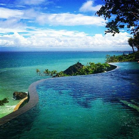 infinity pools bali infinity pool bali travel pinterest