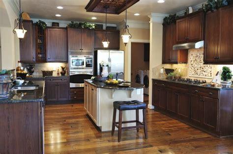 dark cabinets lighter wood floors light countertops 41 luxury u shaped kitchen designs layouts photos