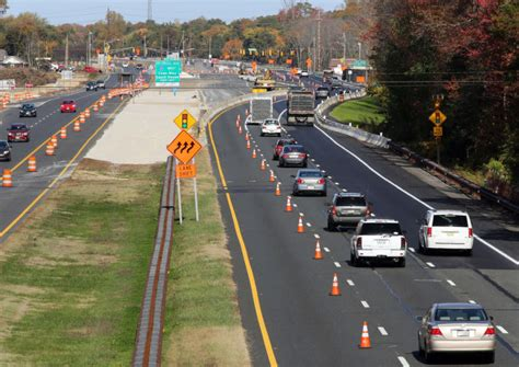 Traffic On Garden State Parkway South by Garden State Parkway Light Removal About 15 Percent