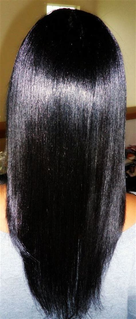 growing healthy relaxed hair hair and
