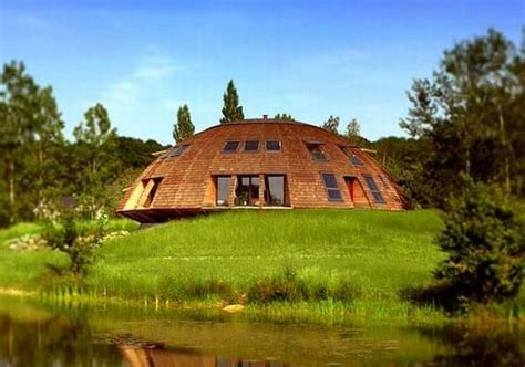 sustainably crafted geodesic dome houses ecofriend