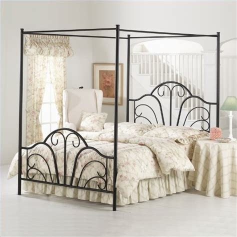 metal canopy bed frame queen canopy beds for girls queen hillsdale dover black metal