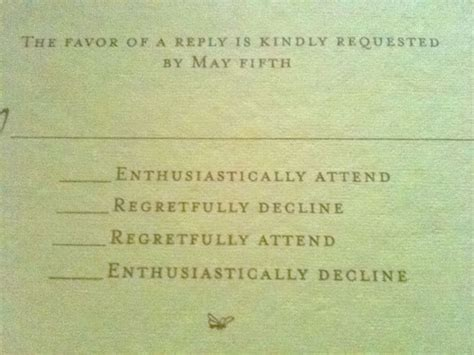 clever wedding response card wording how to get your guests to rsvp to your wedding st
